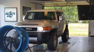 2007 stock fj cruiser manual transmission dyno pull youtube