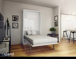 Single Frame Beds The Hover Single Vertical Wall Bed With Table Desk Expand