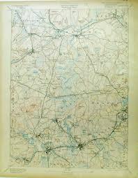 Mass Map Prints Old U0026 Rare Massachusetts Page