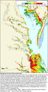 Maps Virginia by Sea Level Rise Planning Maps Likelihood Of Shore Protection In