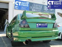 Smoked Tint Altezza Tail Lights For 95 00 Mitsubishi Lancer Evo 4