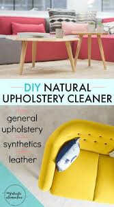 Homemade Upholstery Shampoo 47 Best Upholstery Cleaning Images On Pinterest Cleaning Hacks