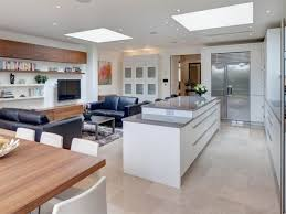 Open Plan Kitchen Flooring Ideas Open Plan Kitchen Design Ideas Handleless Kitchen Open Plan