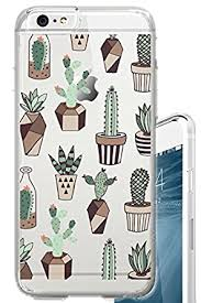 amazon succulents amazon com iphone 6s case cactus doodle succulents summer indoor