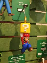 mario bros ornaments are heading to hallmark stores