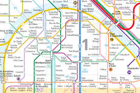 Map Of Paris France Official Map île De France Regional Transit Map Transit Maps