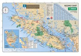 Map Vancouver Canada by Map Vancouver Island Deboomfotografie