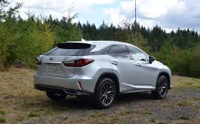 lexus rx450h sport lexus rx 450h f sport note the rear bumper skirt that conceals