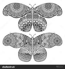 butterfly coloring pages adults coloring