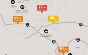 Nc Zip Code Map Study Life Expectancy Varies By Zip Code In The Triangle News