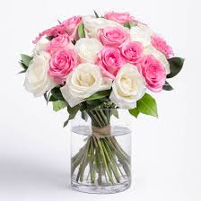 White Roses In A Vase Roses In A Box Nyc Flower Delivery