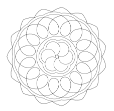 easy mandala printables simple printable mandala coloring pages