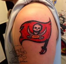 minds eye tattoo emmaus hours ta bay buccaneers logo tattoo by paul bachman at mind s eye