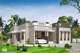 one house designs bedroom single storey budget house kerala home design floor