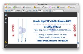 creating numbered raffle tickets with indesign tutorial mines press