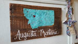 wooden signs decor home state sign wood signs rustic home decor rustic signs