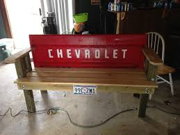 my bench seat from my 65 tailgate 1965 chevy c10 project