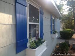 navy blue house with white trim home exteriors in best colors to