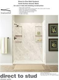Corian Shower Shelf Transolid Solid Surface Shower Walls Shower Pans Custom