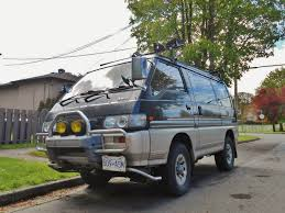 mitsubishi delica space gear seattle u0027s parked cars 1991 mitsubishi delica star wagon chamonix