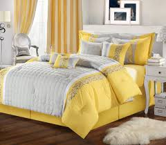 comforter sets grey and yellow bedding sets grey and yellow