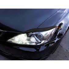 white lexus is300 lexus is300 is250 2006 2012 vz style carbon fiber eyelids vz100476