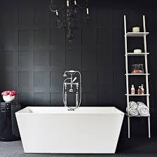 and black bathroom ideas black and white bathroom designs ideal home