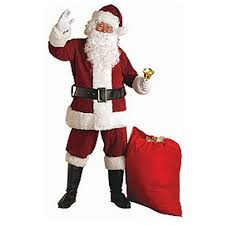santa costumes rubie s costumes xx large crimson regal plush santa suit