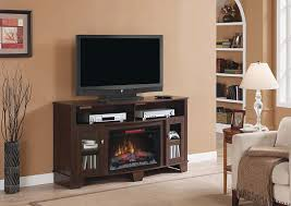 Infrared Electric Fireplaces by Lasalle Infrared Electric Fireplace Media Console In Midnight