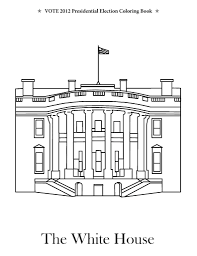white house coloring page fablesfromthefriends com