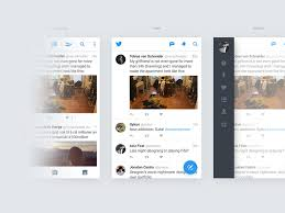 menu design resources twitter for android concept sketch freebie download free resource