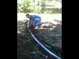 Metal Flower Bed Edging How To Install Metal Landscape Edging Denver Landscaping Youtube