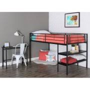 full bunkbeds with desk under