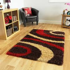 Large Modern Rug by Small X Large Thick Soft Easy Clean Modern Rugs Chocolate Brown