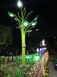 mumbai lights up 10 city locations with solar trees