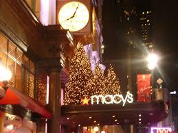 christmas tree in macy u0027s nyc lucky 2b here
