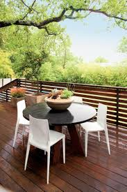 zen inspired backyard deck southern living open air dining