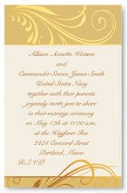 Wedding Invite Words Wedding Invitation Wording For Military Titles Paperdirect Blog