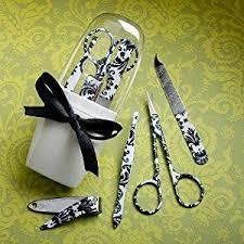 useful wedding favors useful wedding favors damask manicure sets 18