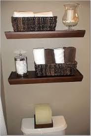 modern bathroom shelves decorating home ideas