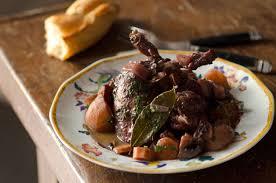 cuisine du lapin cocotte de lapin au vin rabbit in wine from luke