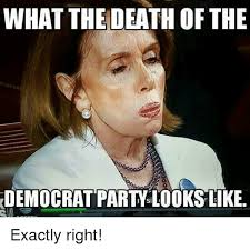 Exactly Meme - what the death of the democrat party looks like exactly right