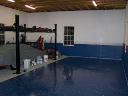 Garage Door Paint Designs Garage Floor Coating Blue Colors After Makeover Ideas Garage