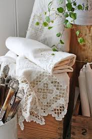 228 best images about linens and lace on pinterest