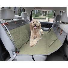 premium smartfit quilted pet hammock seat cover