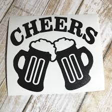 jeep beer decal cheers decal beer mugs vinyl decal yeti cups viny decal