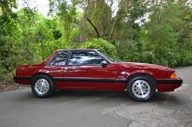 1990 mustang coupe for sale ford mustang coupe 1990 medium cabernet for sale