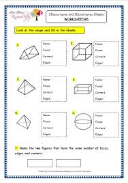 grade 3 maths worksheets 14 3 geometry 2d plane figures and
