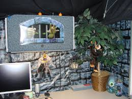 Office Halloween Decorating Contest Coolest Cubicle Contest Part Two