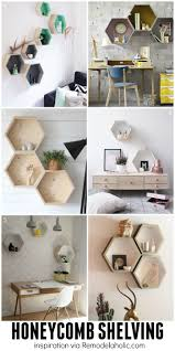 hexagon house floor plans remodelaholic diy geometric display shelves